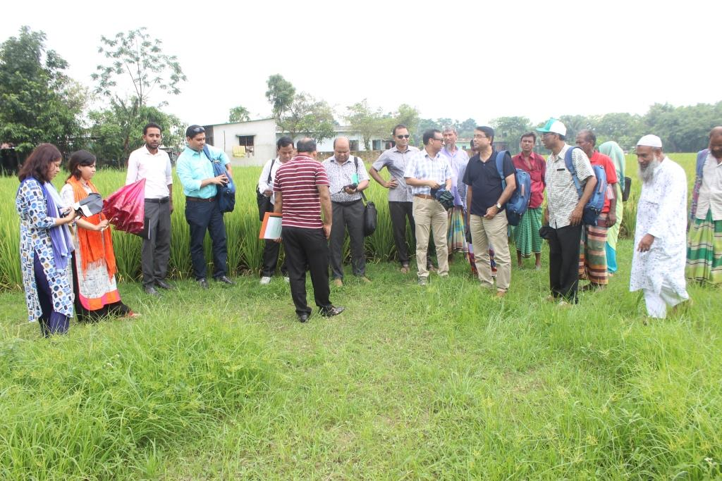 Field visit of SLM Specialist