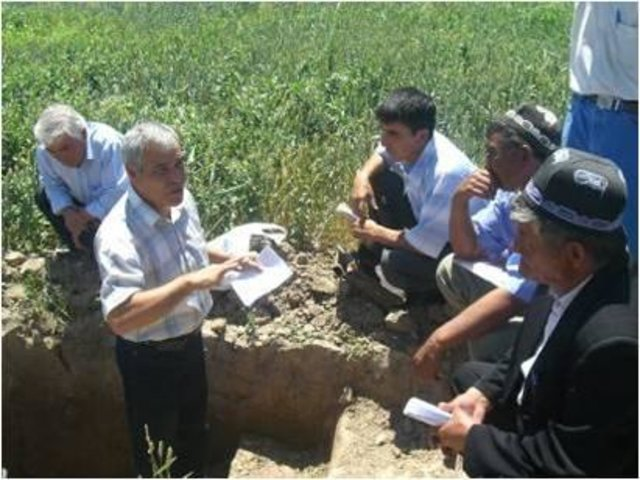 Farmer Field Schools for improved agricultural practices in the irrigation zones of Uzbekistan