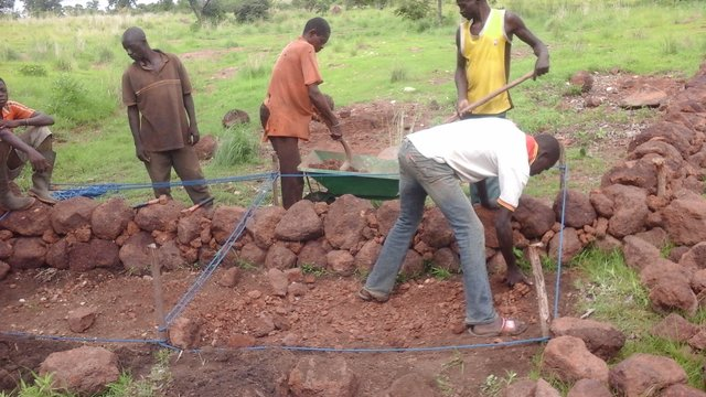 Combating erosion, recovery and enhancement of degraded land and climate change adaptation (EKF Project)